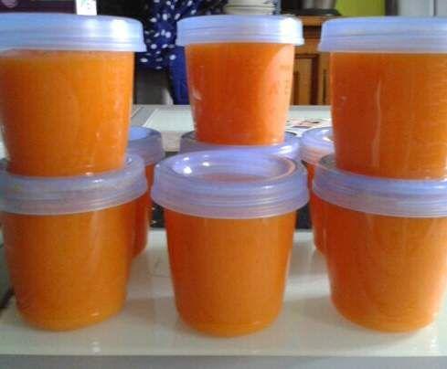 Rezept Kartoffel-Karotten Brei, ab dem 4. Monat von Ela-Vanilla - Rezept der Kategorie Baby-Beikost/Breie