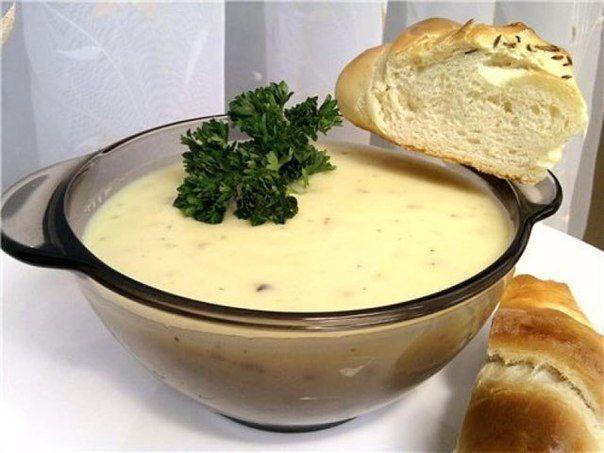 БЛОГ ПОЛЕЗНОСТЕЙ: Пряный чесночно-сливочный суп