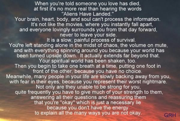 When someone you love has died | The Grief Toolbox