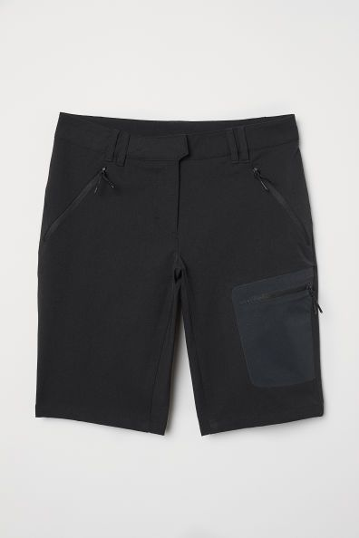 Outdoor Pantolonu Siyah Kadin H M Tr Pantolon Fermuar Kadin