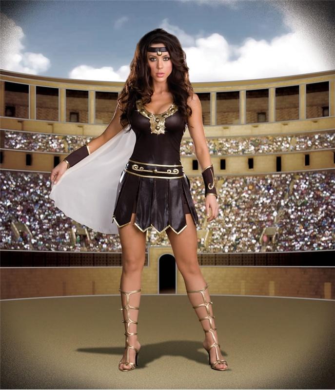 Queen Warrior Costume #sexy womens costumes #sexy halloween costumes