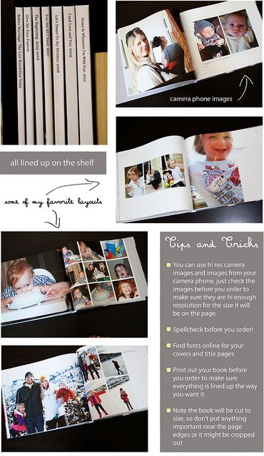 A Blurb.com book each year for all your digital photos!