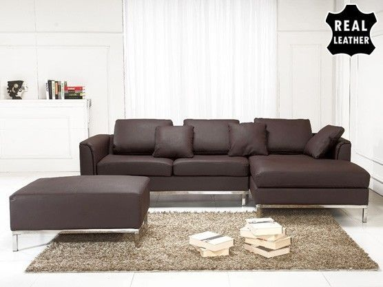 Oslo 3 Piece Leather Living Room Set Part 77