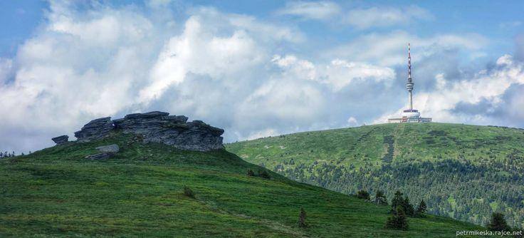 Petrovy kameny a Praděd