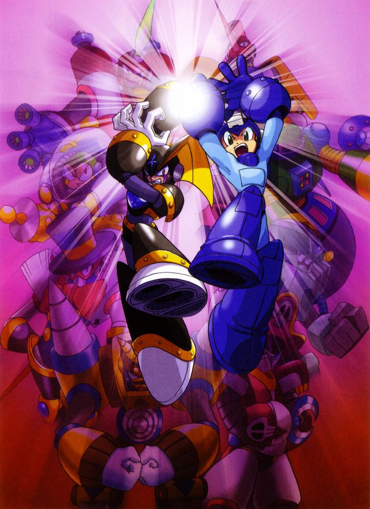 Mega Man& Bass, known in Japan as Rockman& Forte (ロックマン&フォルテ Rokkuman ando Forute), is a video...