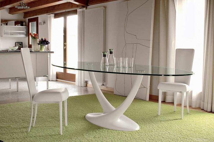 Oval glass dining table – There are many different types of Oval dining sets. If you have a stretching, then it probably comes with one, two or three blade extensions. You can damage your table or leaf if it is not done properly, so it is important to know what you are doing. An oval glass...