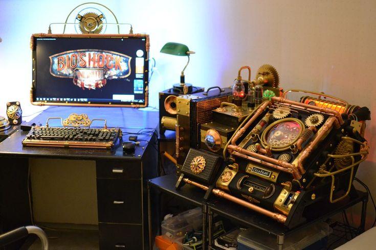 Steampunk Tendencies | The Amazing Bioshock Steampunk PC