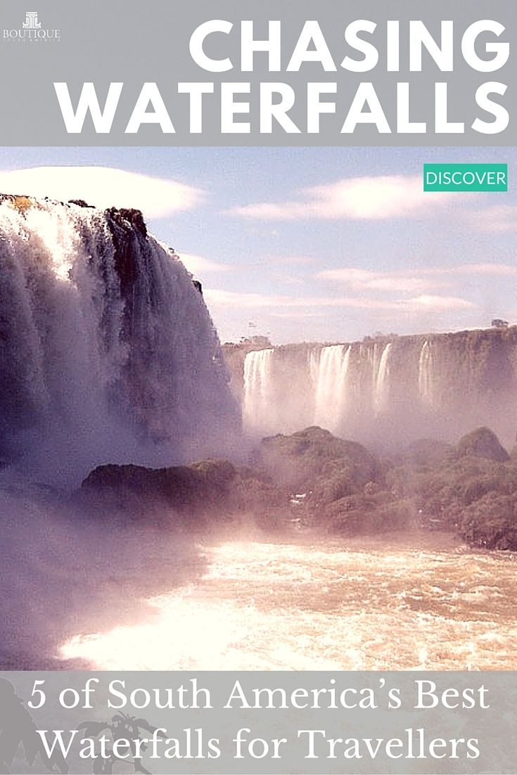 Discover 5 of South America's Best Waterfalls for travellers: http://www.boutiquesouthamerica.com.au/blog/5-best-south-america-waterfalls-travellers/