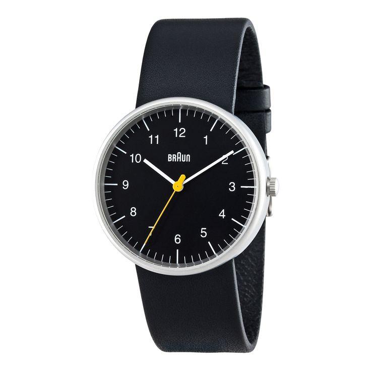 BN0021 Black Brushed   Braun   TicTacToy.ru - магазин дизайнерских часов