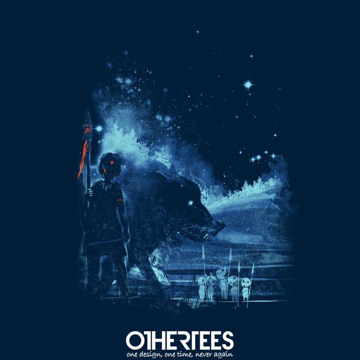 """Nature Defenders"" by kharmazero on sale until 26th August on othertees.com Pin it for a chance at a FREE TEE! #princessmononoke #mononoke #ghibli #studioghibli #miyazaki #hayaomiyazaki #anime #othertees #forestspirits"