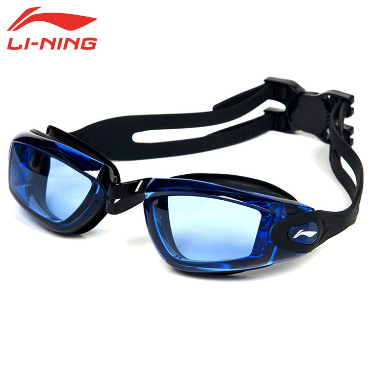 LI-NING-2.0 ~-6.0 Miopía Gafas de Natación Contra la Niebla Gafas Hombres Mujeres Dioptrías Ajustable de Natación en la Piscina gafas LSJL617-5