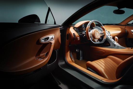 Bugatti Chiron Interior wow