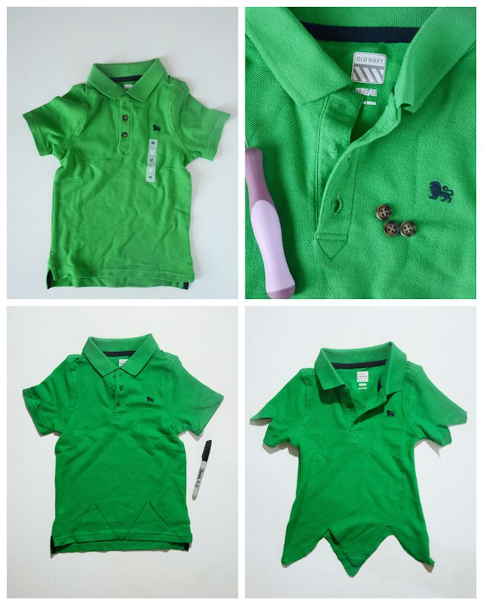 DIY Peter Pan Halloween Costume for Kids                                                                                                                                                     More