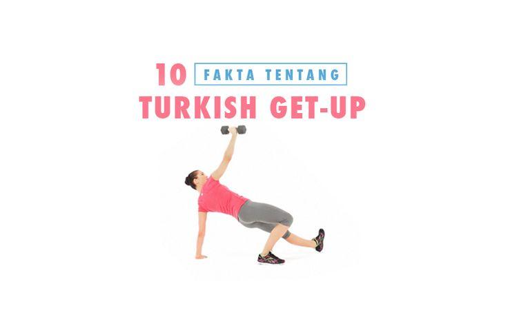 Turkish Get Up merupakan sebuah gerakan yang membutuhkan pergerakan seluruh otot dalam tubuh. Gerakan ini pertama-tama dilakukan dengan posisi berbaring di lantai sambil mengangkat beban, dan setelah itu bangun perlahan-lahan sebelum mengambil posisi berdiri.