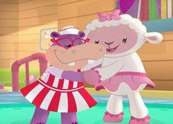DoctoraJuguetesJuegos.com - Juego: Rompecabezas Lambie y Hallie - Juegos de Puzzles de Doctora Juguetes Disney Jugar Gratis Online