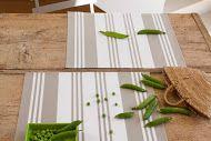 Set de table enduit Maia Blanc >> www.jean-vier.com