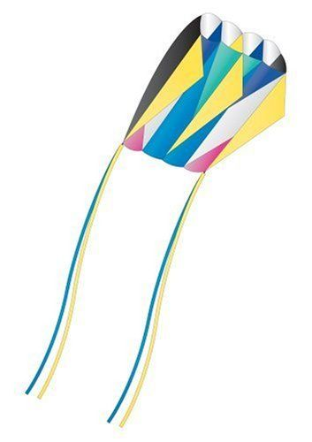 "Skyfoil™ Frameless Parafoil Kite: Lazer by X-Kites by X-Kites. $10.50. From the Manufacturer                The Skyfoil is frameless, lightweight and ready to flying without assembly. Just add wind and you are ready to fly and soar the afternoon away!  After your day of playing in the wind, just fold up your kite and store it inside the pouch included. This really is the BEST ""take anywhere"" kite!  The Skyfoil Frameless kite is always  ready to fly and has no stick..."