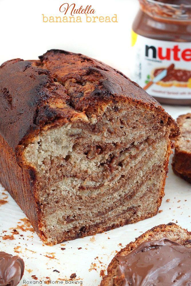Nutella Banana Bread (1) From: Roxana's Home Baking, please visit
