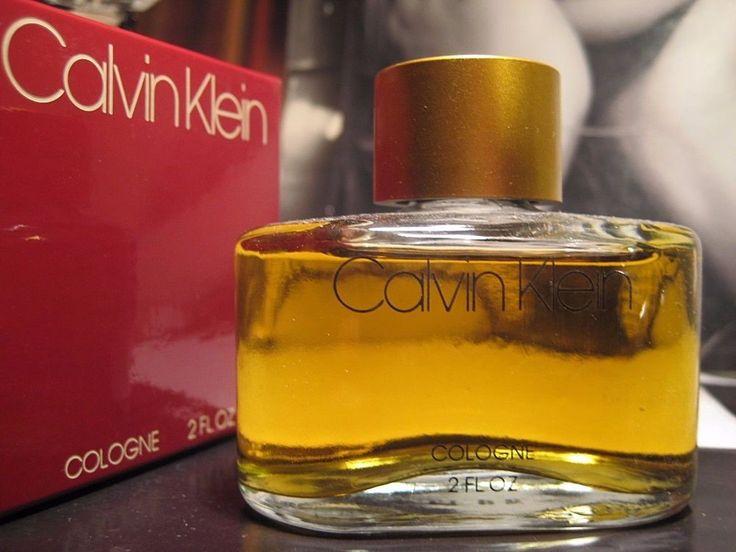 RARE 197/80s Original 2 oz Red **COLOGNE** Natural VINTAGE CALVIN KLEIN perfume