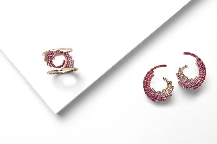 Galaxy Earring & Galaxy Rings; Ruifier