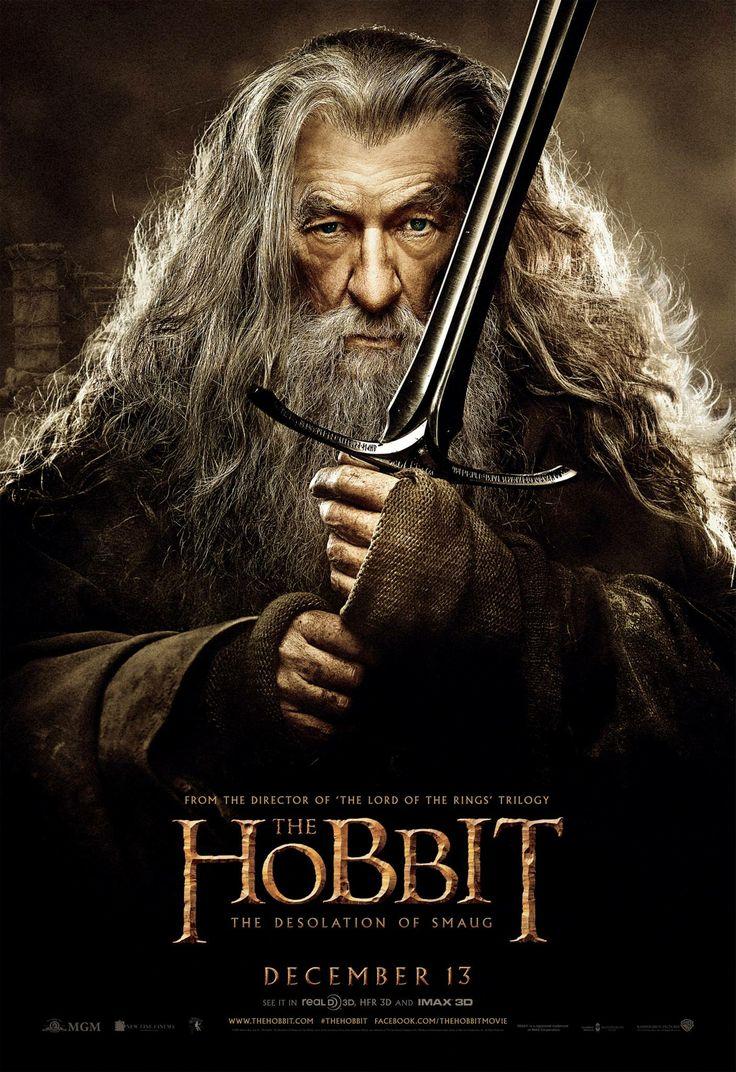 Gandalf. Hobbit: The Desolation of Smaug