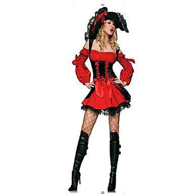 Cosplay Kostuums / Gemaskerd Bal / Feestkostuum Piraat Festival/Feestdagen Halloween Kostuums Rood Patchwork Kleding / Meer Accessoires 5250002 2017 – €21.55