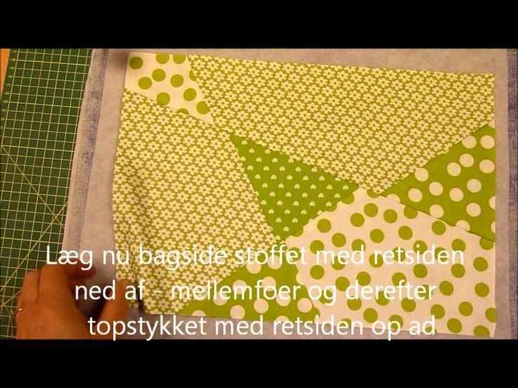 Nemme patchwork dækkeservietter fra HANNES Patchwork