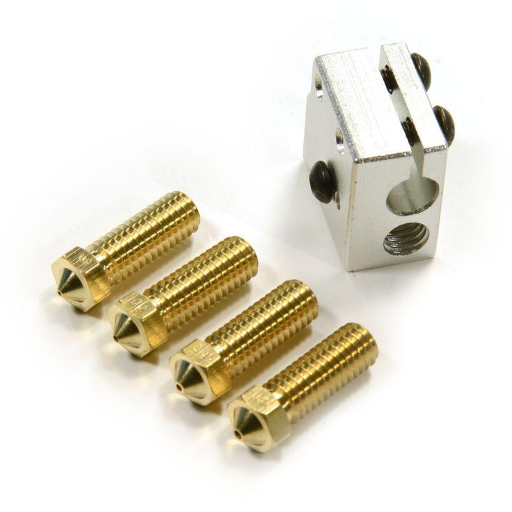 RepRap 3D Printer High Print Speed Print Pack 1.75mm / 30mm Filament + 4 nozzles