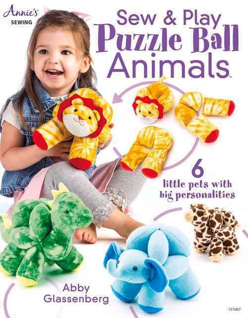 A puzzle ball pattern holds a tradition of being passed down to generations of family members. Start your own tradition and create puzzle balls with personality. Made from the softest of fabrics, each