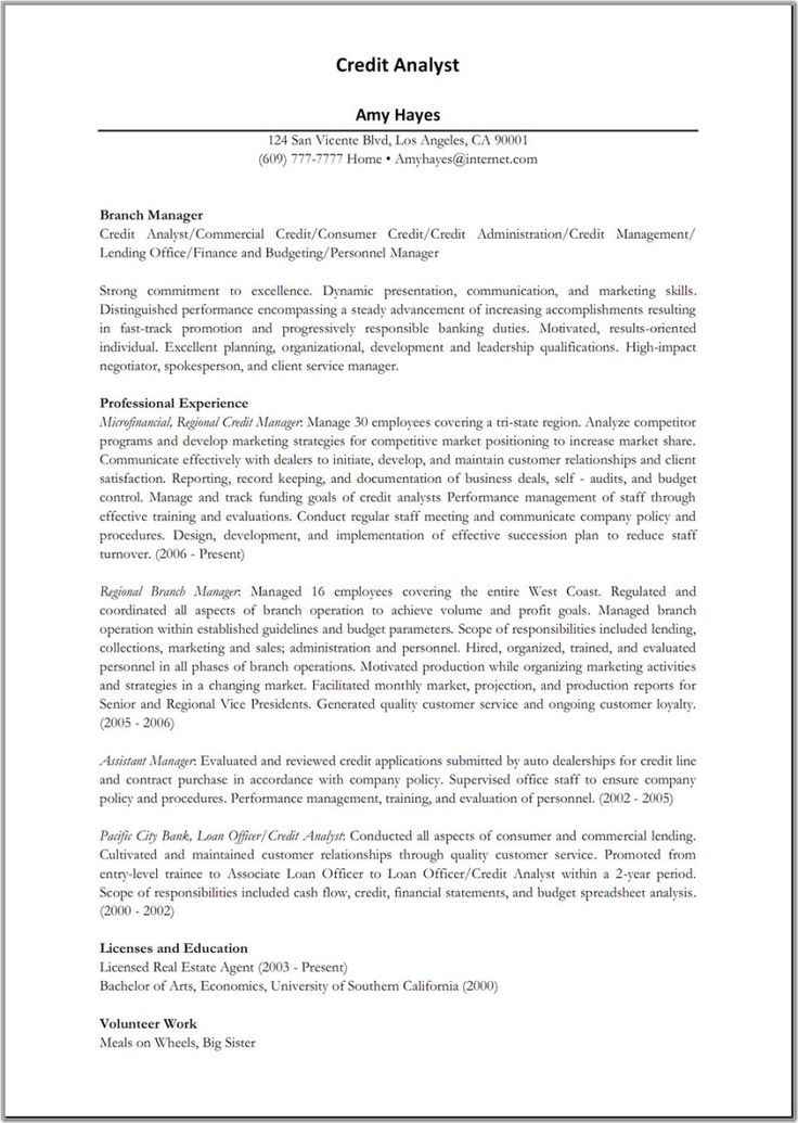 5 Business Analyst Resume Examples | Sample Resumes