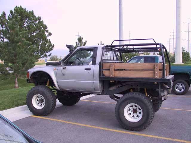 flatbeds for pickups | Misc. Toyota pickup/4runner.