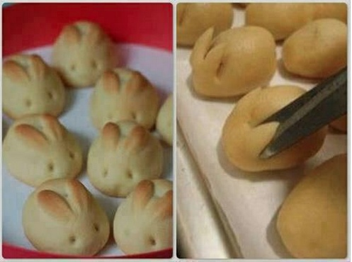 rabbit bread beautiful idea for baby shower