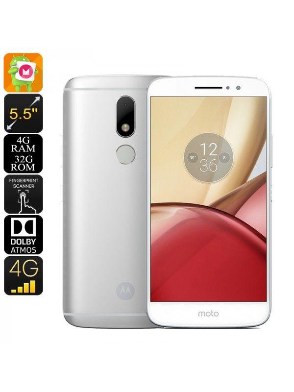 Lenovo Moto M Android Smartphone (Silver)