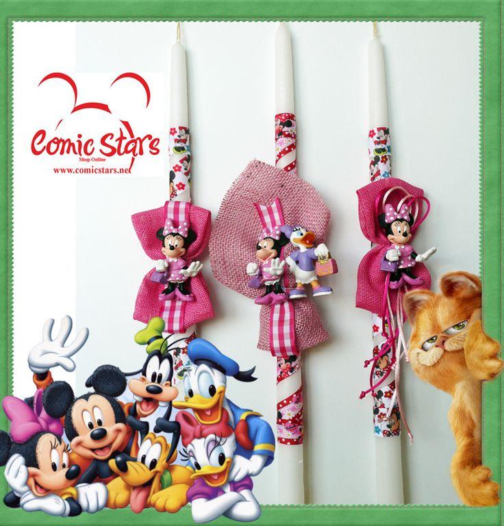 Πασχαλινές Λαμπάδες Minnie Mouse