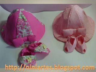Nini Artes: Molde Chapéu de Bebê