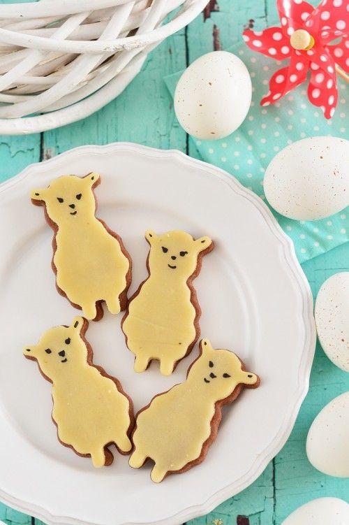 Húsvéti marcipános keksz