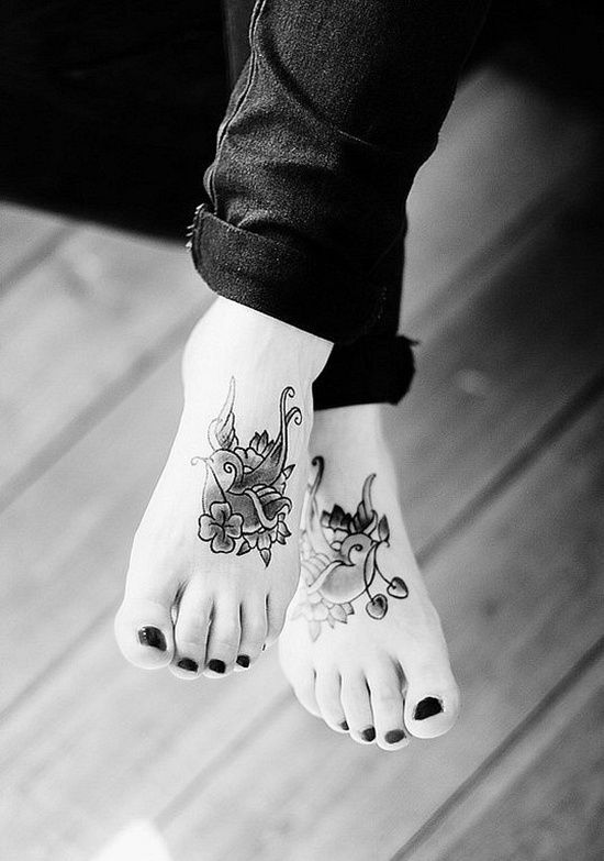 Sehr 73 best Tatouage femme pied images on Pinterest | Tattoo designs  FQ47