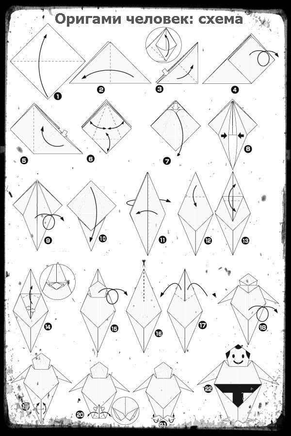 Одежда Из, Оригами Схемы