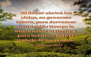 Biblia, paisajes y maravillas: Deuteronomio 28:12