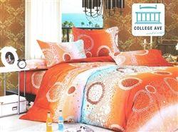 Radiant Sea Twin XL Comforter Set - College Ave Designer Series Best Comforter For College Students