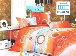 Radiant Sea Twin XL Comforter Set - College Ave Designer Series Best Comforter For College Students