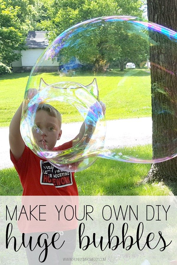 5 Easy Ways To Have Fun With Diy Bubbles This Summer Bubble