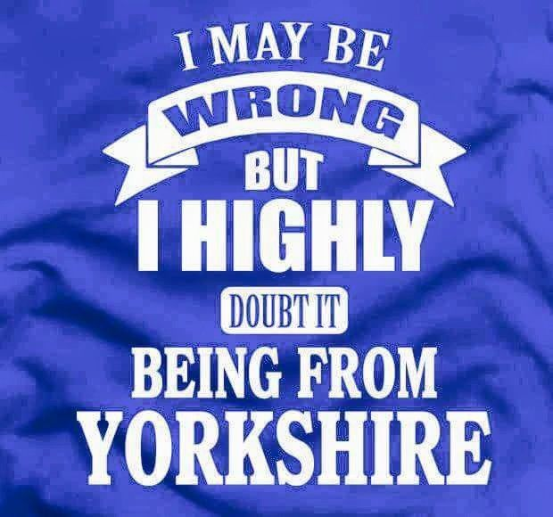 Yorkshire Lass Born and Proud.  @originrugcollection @louisekellick