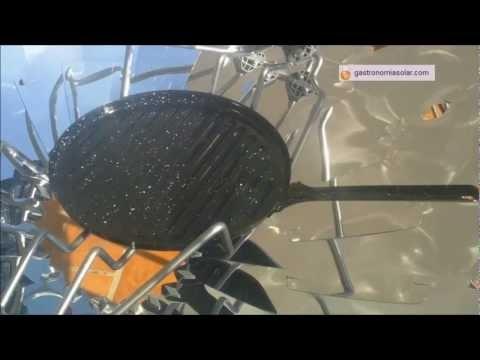 Sartenes y planchas antiadherentes para cocina solar