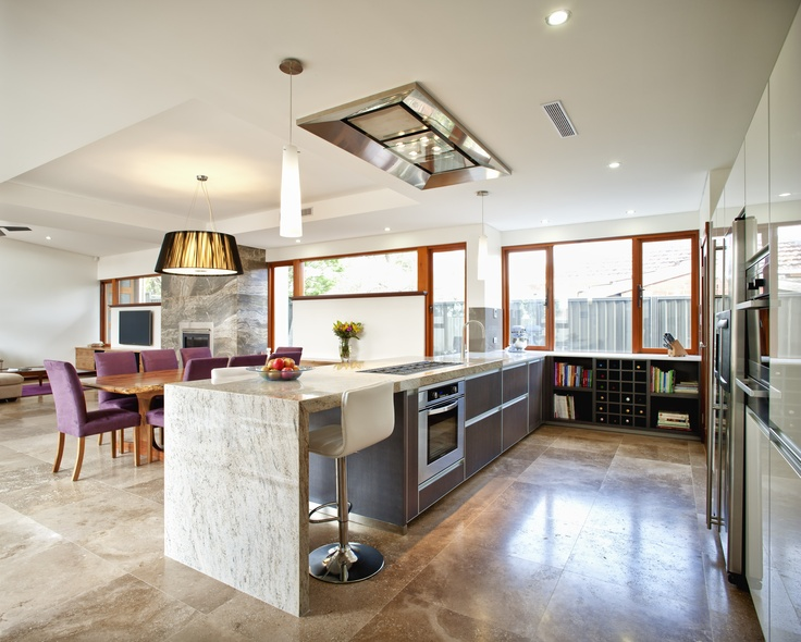 Kitchen, dining & living area, Wembley project