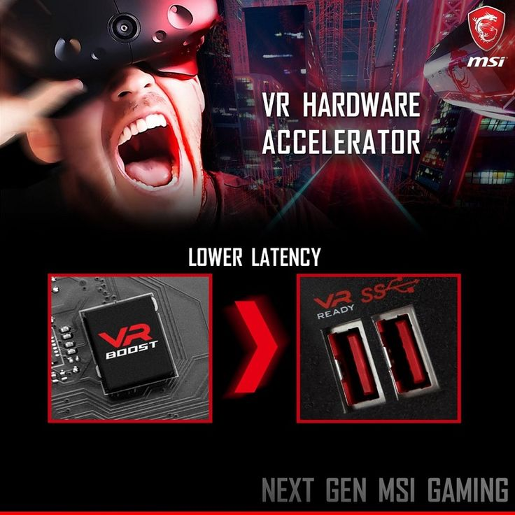 MSI teases VR optimized USB port on their next gen gaming motherboards