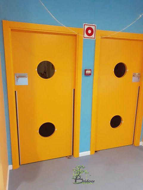 Puertas de seguridad para Escuela Infantil Municipal en Madrid