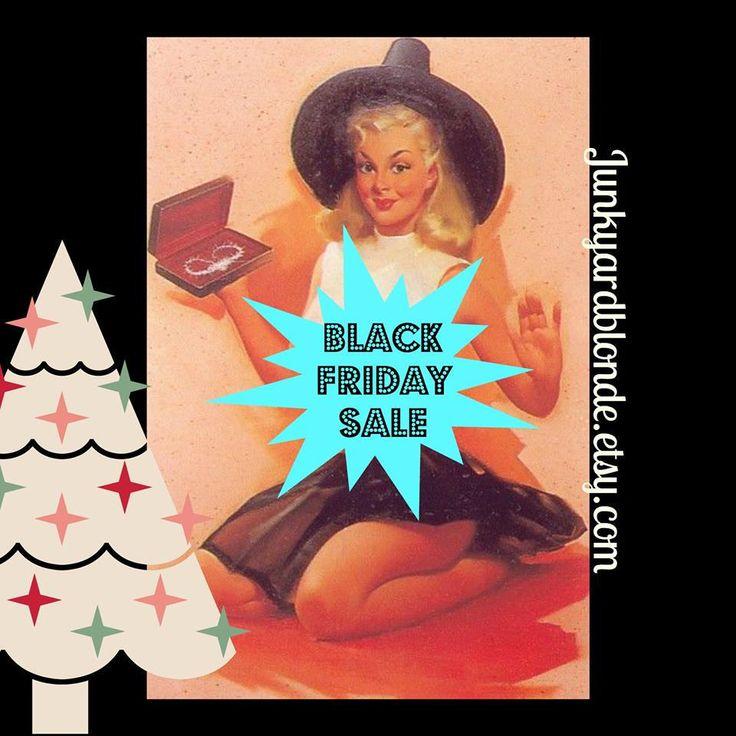 Shop my BLACK FRIDAY  sale: 25% off. http://etsy.me/2jY8UBD #etsy #junkyardblonde #etsyfinds #etsygifts #etsysale #etsycoupon #shopsmall #blackfriday #etsysellsvintage #gotvintage #vintage #retro #kitsch #gifts #sale #collectibles