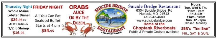 Suicide Bridge Restaurant - waterfront dining at its best - Home