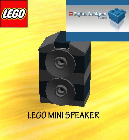 Lego mini Speaker